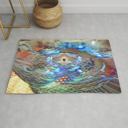 Cold Fire Rug