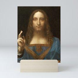 Salvator Mundi by Leonardo da Vinci Mini Art Print