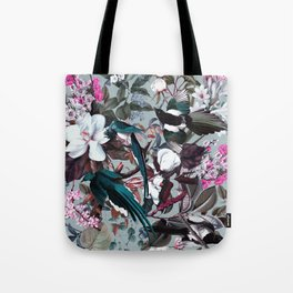 Floral and Birds XXIV Tote Bag