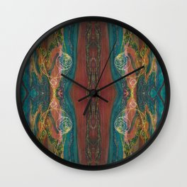 The Perennial Climax (Echo From the Cave) (Reflection) Wall Clock