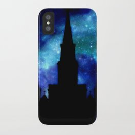 Religious Space : Galaxy Cathedral iPhone Case