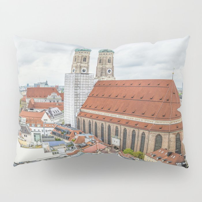 The Cathedral of Munich Pillow Sham
