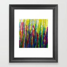 stripes traffic 2 Framed Art Print
