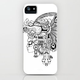 Mayan Warrior iPhone Case