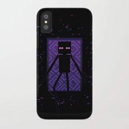 Here comes the Enderman! iPhone Case
