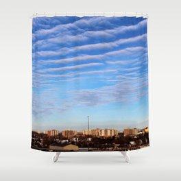 Blue Sky Toronto Shower Curtain