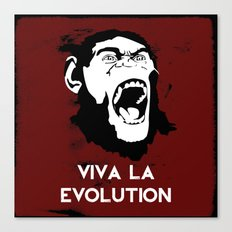 VIVA LA EVOLUTION Canvas Print