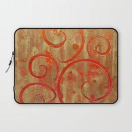 Pompeii Red (encaustic painting) Laptop Sleeve