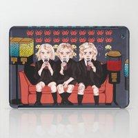 ahs iPad Cases featuring AHS Hotel by minniemorrisart