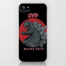 Gojira Kaiju Alpha iPhone (5, 5s) Slim Case