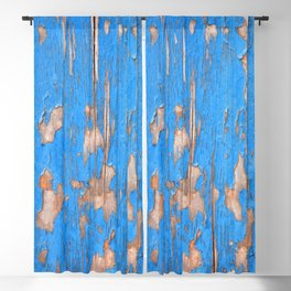 Flaky Blue 61 Blackout Curtain