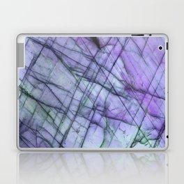 Purple Labradorite Laptop & iPad Skin