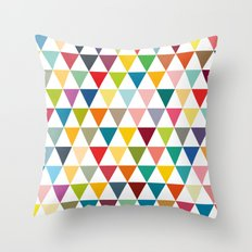 Colourful flags Throw Pillow