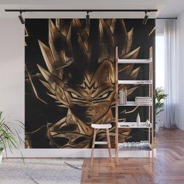 Dragon Ball Vegeta Artistic Illustration Energy Style Wall Mural