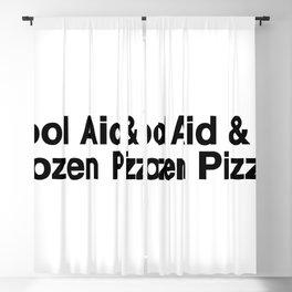 KOOL AID & FROZEN PIZZA Blackout Curtain