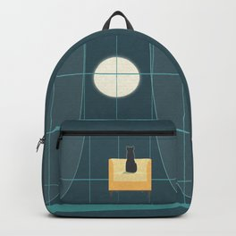 Cat and the Moon II Backpack