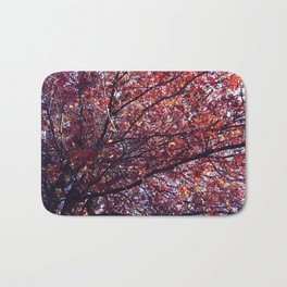 Under the trees - Autumn Bath Mat
