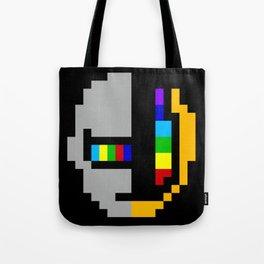 Daft minimal pixel Tote Bag
