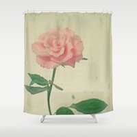 blush Shower Curtains featuring Blush by Cassia Beck