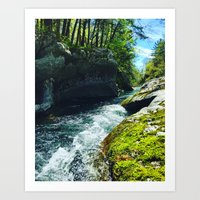 Vermont is Gorges Art Print