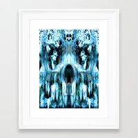 jack frost Framed Art Prints featuring JACK FROST by Laertis Art