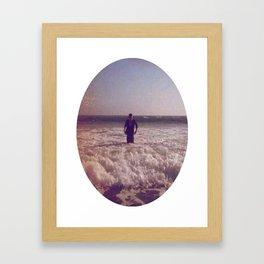 beautiful distortion Framed Art Print