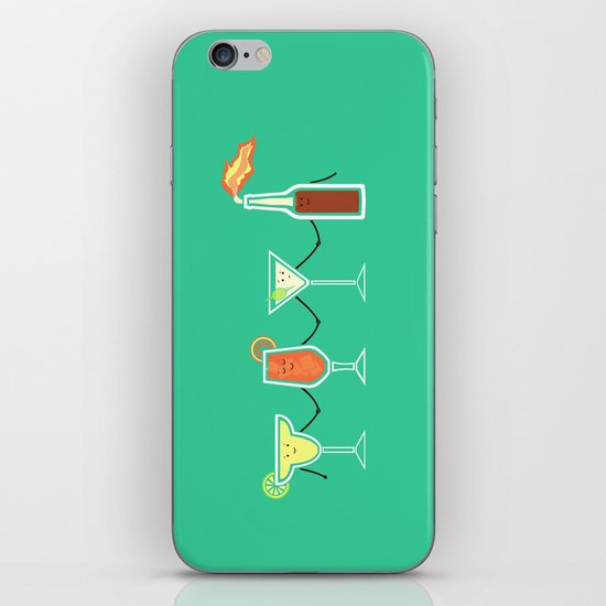 Cocktails! iPhone & iPod Skin