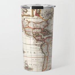 medieval travel map Travel Mug