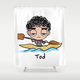 Tod Kayak Shower Curtain