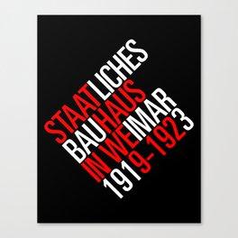 Staatliches Bauhaus Canvas Print