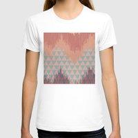 ikat T-shirts featuring IKAT GEOMETRIE II by Nika