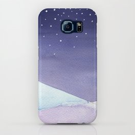 Snowy Landscape Abstract iPhone Case