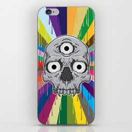 3 Eyed Jackass iPhone Skin
