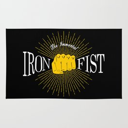 The Immortal Iron Fist Vintage Style Rug