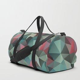 Polygon pattern 8 Duffle Bag