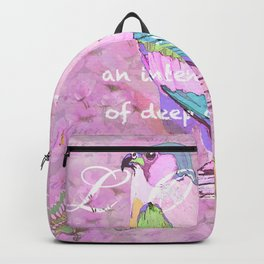 BIRD LOVE AND BUTTERFLIES Backpack