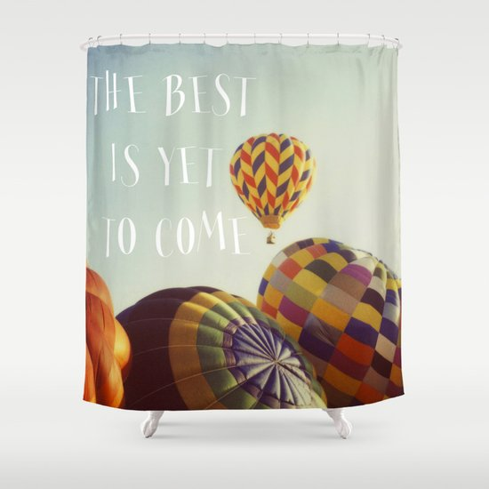 The Best - Balloons Shower Curtain