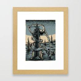 The Trap Framed Art Print