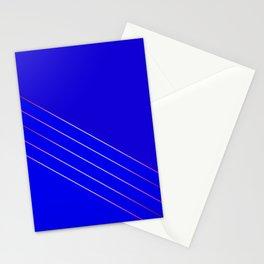 Victoria 4  Indigo Stationery Cards