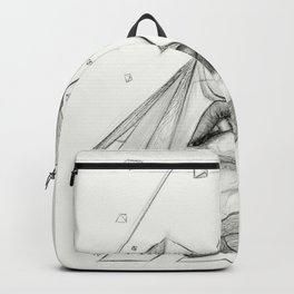 Surreal Geometry Shapes Backpack