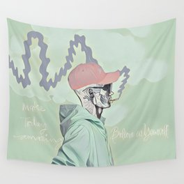 Chill and smoke Wall Tapestry