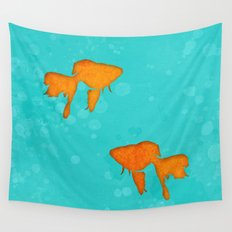 Aquarium for two Wall Tapestry