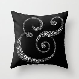 The Ampersand of Ampersands Throw Pillow