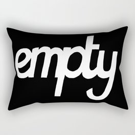 Empty Rectangular Pillow