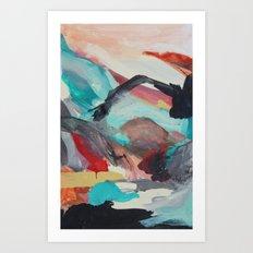 Palette No. One Art Print