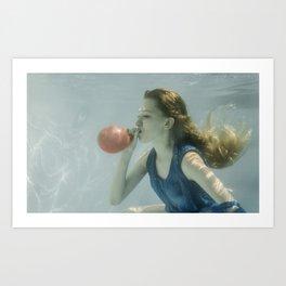 Water balloon Art Print