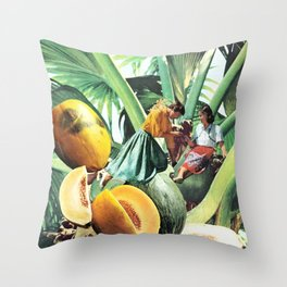 FERTILE CRESCENT Throw Pillow