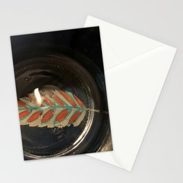 The photo of the Holiday Spirit Stationery Cards