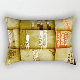 art 2 Rectangular Pillow