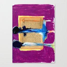 Book Report Canvas Print